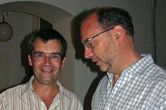 Dr. Peter Piot im Gespräch mit Christian Thomes